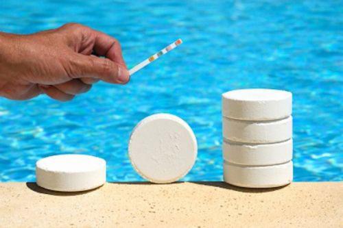 Thiết bị diệt khuẩn và xử lý hóa chất hồ bơi